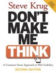 Don't Make Me Think, 2nd edition, Steve Krug